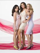 Lipstick Jungle - (2. Staffel) - Lipstick Jungle: Wendy (Brooke Shields, M.), Victory (Lindsay Price, l.) und Nico (Kim Raver, r.) ... © NBC, Inc.