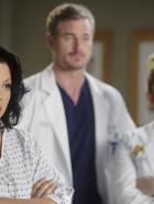 Grey's Anatomy - Die jungen rzte - Stehen vor einer neuen Herausforderung: Callie (Sara Ramirez, l.), Mark (Eric Dane, M.) und Arizona (Jessica Capshaw, r.) ...  ABC Studios