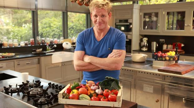 Der international gefeierte Sternekoch Gordon Ramsay kocht auf unverwechselba...