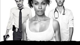 (3. Staffel) - Hawthorne: Christina Hawthorne (Jada Pinkett Smith, M.), Dr. Tom Wakefield (Michael Vartan, r.) und Det. Nick Renata (Marc Anthony, l.) ... © 2010 Sony Pictures Television Inc. All Rights Reserved.