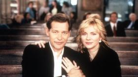 Sex and the City - Samantha (Kim Cattrall) and Richard (James Remar) © Paramount Pictures