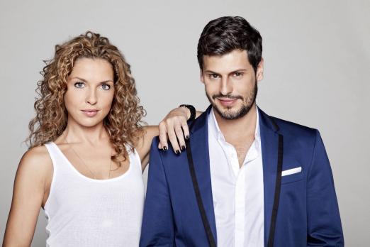 Anna und die Liebe - Werden Luca (Manuel Cortez, r.) und Nina (Maria Wedig, l...